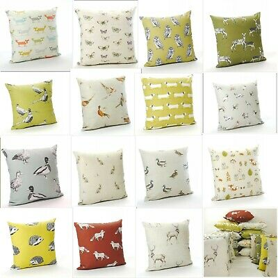 Animal Print Cotton Cushion Covers  in 18 Designs