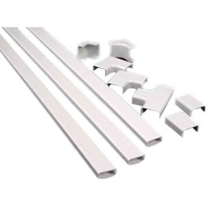 On-Q/Legrand CordMate II Kit - Cable Channel - White - 1 Pack