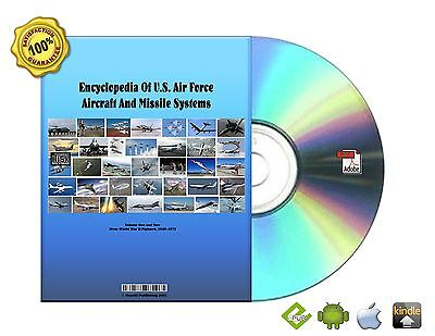 Encyclopedia Of U.S Air Force Aircraft And Missile Systems Volume 1 & 2 eBook CD