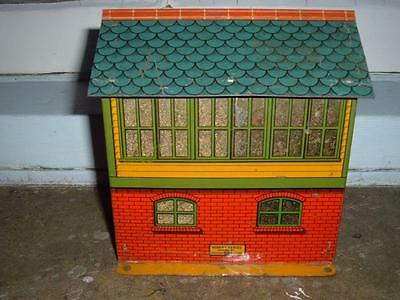 Hornby O Gauge Signal Cabin In Used Condition Ideal 4 A Layout Scene Vintage !!!