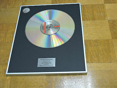 LAURYN HILL can't take my eyes off of you  DISCO DE PLATINO / PLATINUM DISC
