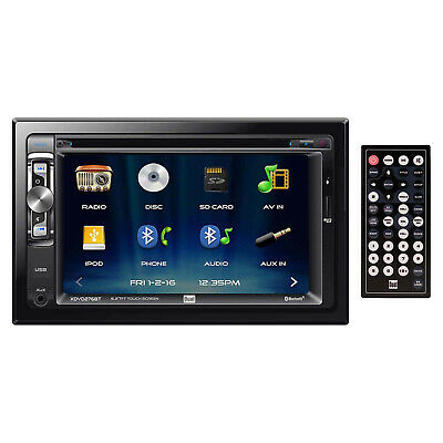 Kenwood DPX503BT Double DIN In Dash CD Receiver, USB & Aux, Sirius XM Tuner