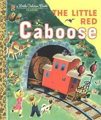 The Little Red Caboose by Marian Potter (English) Hardcover Book Free Shipping!