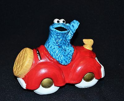 Sesame Street Cookie Monster Money Box Muppets 1980 Vintage