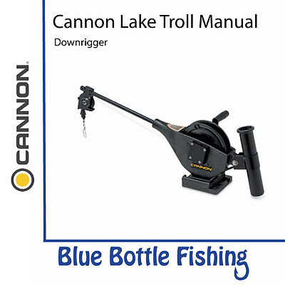 NEW Cannon Lake Troll Manual Downrigger from Blue Bottle Fishing