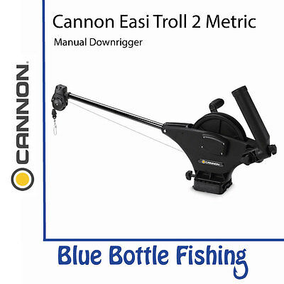 NEW Cannon Easi Troll 2 Metric Downrigger from Blue Bottle Fishing