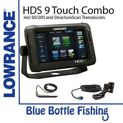 Lowrance HDS-9 Gen3 with Low/High and StructureScan Transducer