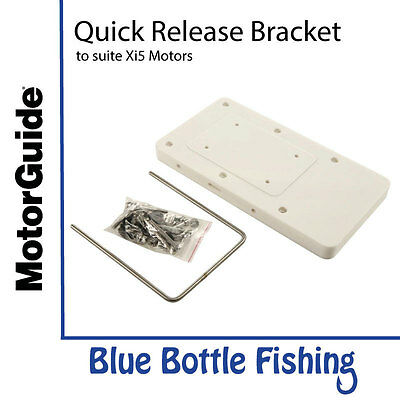 MotorGuide Xi5 Quick Release Bracket White