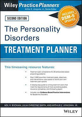 Personality Disorders Treatment Planner, Second Edition by Neil R. Bockian (Engl