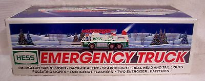 1996 HESS EMERGENCY TRUCK - NIB - WITH BAG - Smoke Free Home