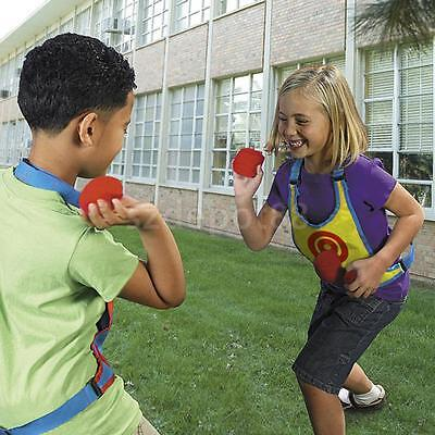Kids Child Target Toss & Catch Ball Fun Indoor Outdoor Sports Play Game Toy