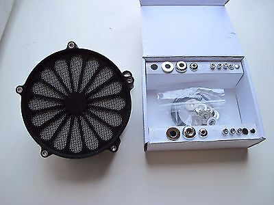 Screaming Eagle Style Air Cleaner Filter Kit Cv Carb Harley Softail Dyna Touring