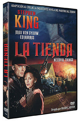 Needful Things NEW PAL Cult DVD Fraser Clarke Heston Max von Sydow Ed Harris