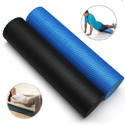 60x14.5cm EVA Yoga Foam Roller Pilates Massage Fitness Trigger Point Floating