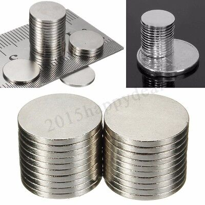 10x N52 Strong Round Disc Magnets Rare Earth Neodymium Industrial Magnets 12x3mm