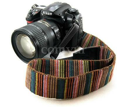 Camera Neck Shoulder Strap Sling Belt For CANON Nikon Sony Olympus Dslr New