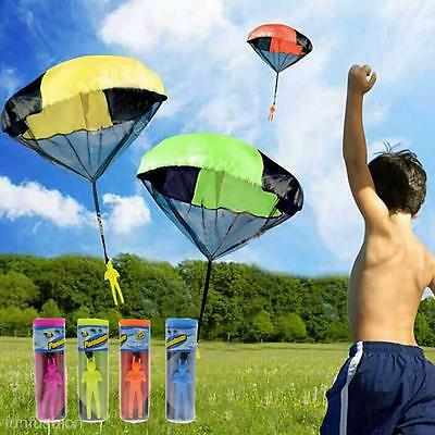 Outdoor Hand Throw Parachute Flying Umbrella Toy Kids Educational Toy Funny Gift