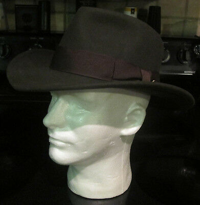 THE OFFICIAL Indiana Jones Wool Fedora-CRUSHABLE-Movie Hat-Brown-S Lucas e7bd23ff9924