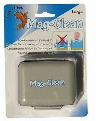 Superfish mag-clean large  floating cleaning algae magnet for aquarium fish tank