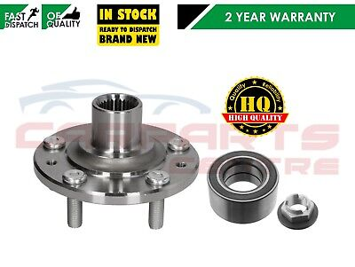 For Ford Mondeo Mk3 New Front Wheel Hub Flange & Bearing 00-07 Manual Cars Only