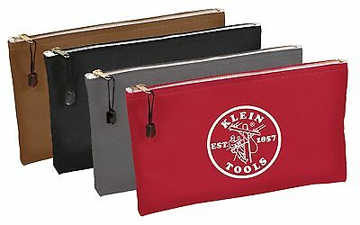 Klein Tools 5141 Canvas -- Zipper Bag 4-Pack **Free Shipping** - NEW - USA