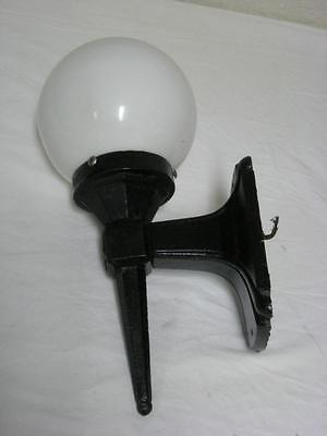 Vintage Art Deco Cast Iron Sconce Porch Light