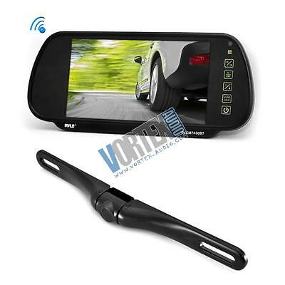 """New Pyle PLCM7400BT Bluetooth Rearview Backup Camera & Monitor System, 7"""""""