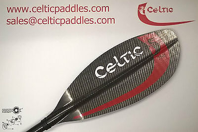 Celtic Pro 700 Carbon Sea Touring Kayak Paddle 2 Piece Leverlok 208-218cm