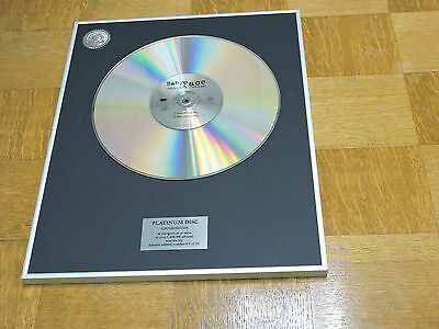 BABYFACE this is for the lover in you DISCO DE PLATINO / PLATINUM DISC