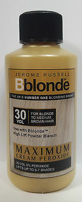 Jerome Russell Bblonde 30 Vol Maximum Cream Peroxide 75Ml