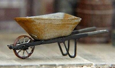 S SCALE/Sn3/Sn2 WISEMAN MODEL SERVICES DETAIL PARTS S5025 METAL WHEEL BARROW KIT