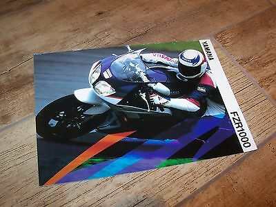 Catalogue /  Brochure YAMAHA FZR1000 1994 //