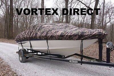 Vortex Camo 25' To 26' Vh Boat Cover For Fishing/ski/runabout