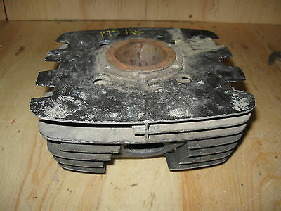 Vintage Can-Am Mx 125  Cylinder Vintage Moto  Bombardier Rotax Can Am Mx 125