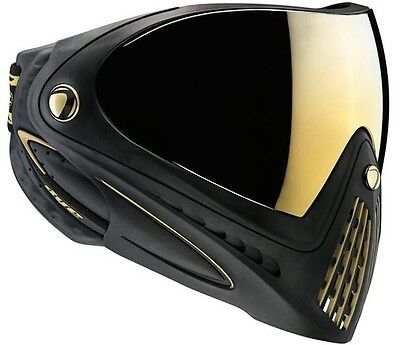 New Dye I4 Thermal Paintball Goggles Mask - Special Edition SE - Black / Gold