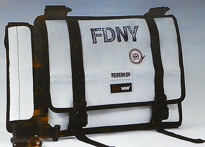 New York City FDNY Bravest Limited Edition Fire Hose Messenger Laptop Bag New