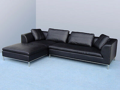 ledergarnitur couch ledersofa voll leder ecksofa sofa garnitur 2020 rw eur picclick de. Black Bedroom Furniture Sets. Home Design Ideas