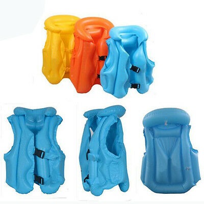 1PCS Children Inflatable Swimming Pool Vest Baby Float Aid Jacket Training Beach