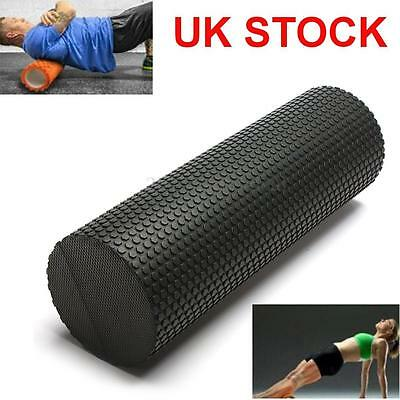 45cm EVA Yoga Pilates Fitness Massage Therapy Foam Roller Exercise Gym Point