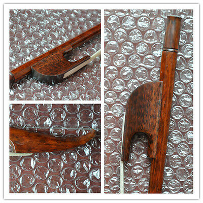 Good 4/4 French Baroque snakewood Double Bass Bow snakewood Frog high quality103