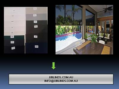 outdoor/alfresco blinds and awning design options  fabric sample from $10