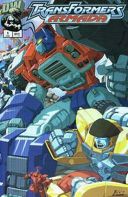 Transformers Armada - Issue # 1 (Wraparound cover) - Dreamwave -2002 - NM (1443)