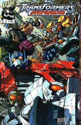 Transformers Armada - Issue # 1 (Wraparound cover) - Dreamwave -2002 - NM (1445)