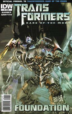 Transformers Dark of the Moon - Foundation - Issue # 1 - IDW - NM (1450)