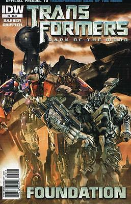 Transformers Dark of the Moon - Foundation - Issue # 2 - IDW - NM (1451)