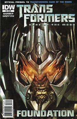 Transformers Dark of the Moon - Foundation - Issue # 3 - IDW - NM (1452)