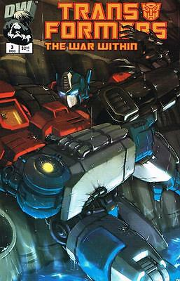 Transformers The War Within - Issue # 3 - Dreamwave - 2002 - NM (1455)