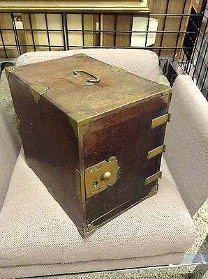 Antique 18th Cent Japanese Kodansu Chest Box Imperial Family Chrysanthemum HndMd