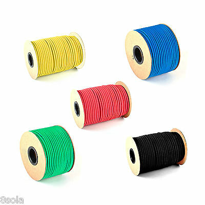8mm Bungee Shock Cord Elastic Rope Tie Down Wide Choice of Colours & Lengths ™