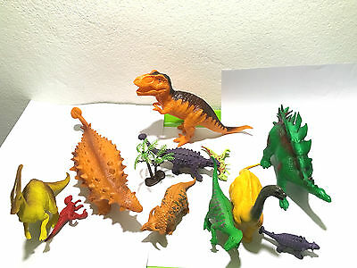 13pcs in box 11 Assorted Dinosaur Playset Toy Animals Action Figures Set
